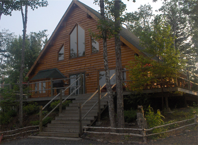 Silver Cross Fishing Lodge, Nova Scotia, Canada